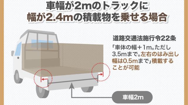 トラックの積載量はどれくらいんあおか