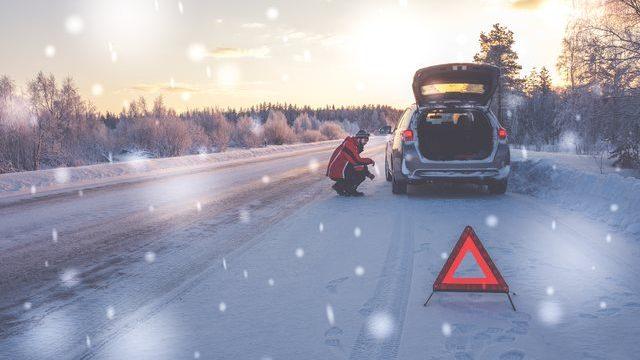 冬シーズンの車のトラブル
