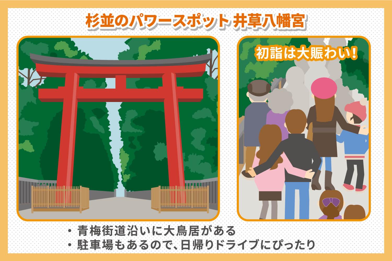 パワースポット:井草八幡宮