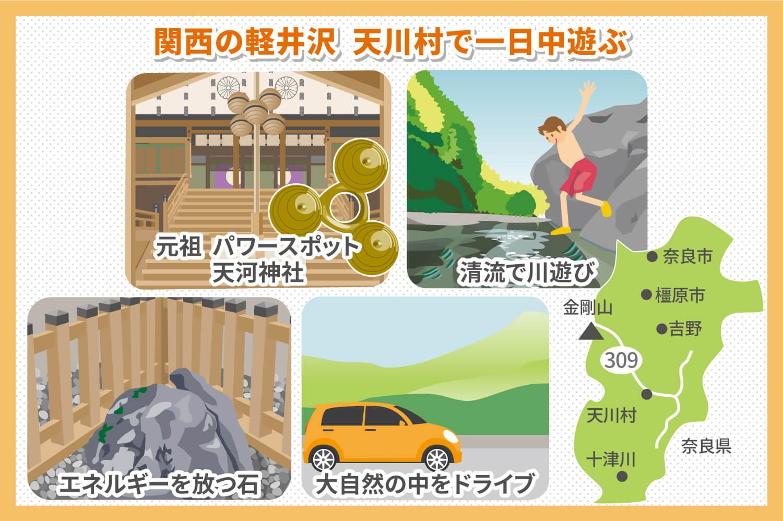 関西の軽井沢!天川村